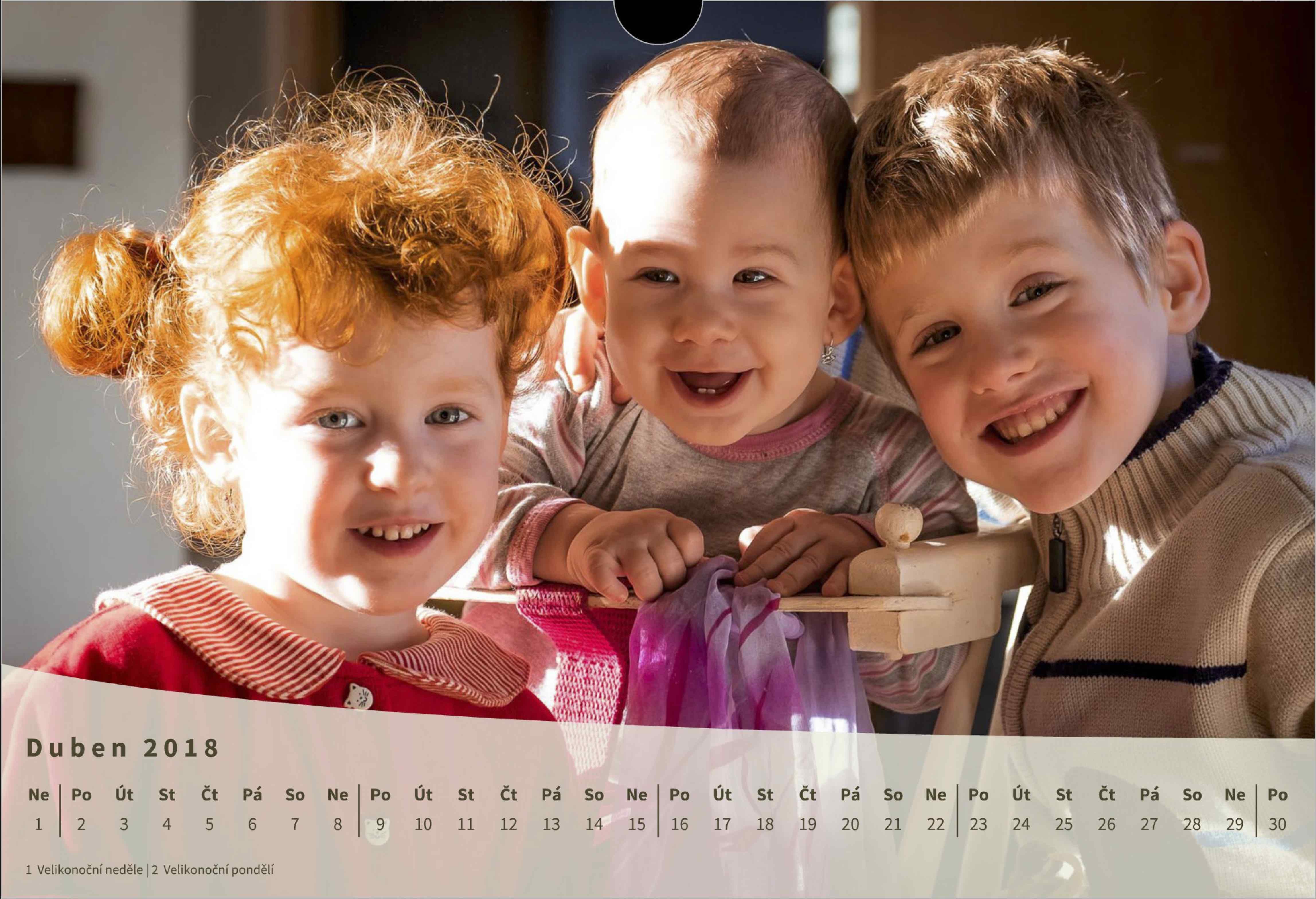 Rodinný kalendář z originálních fotografií - fotograf Vysočina, Brno, Praha - www.originalfoto.cz