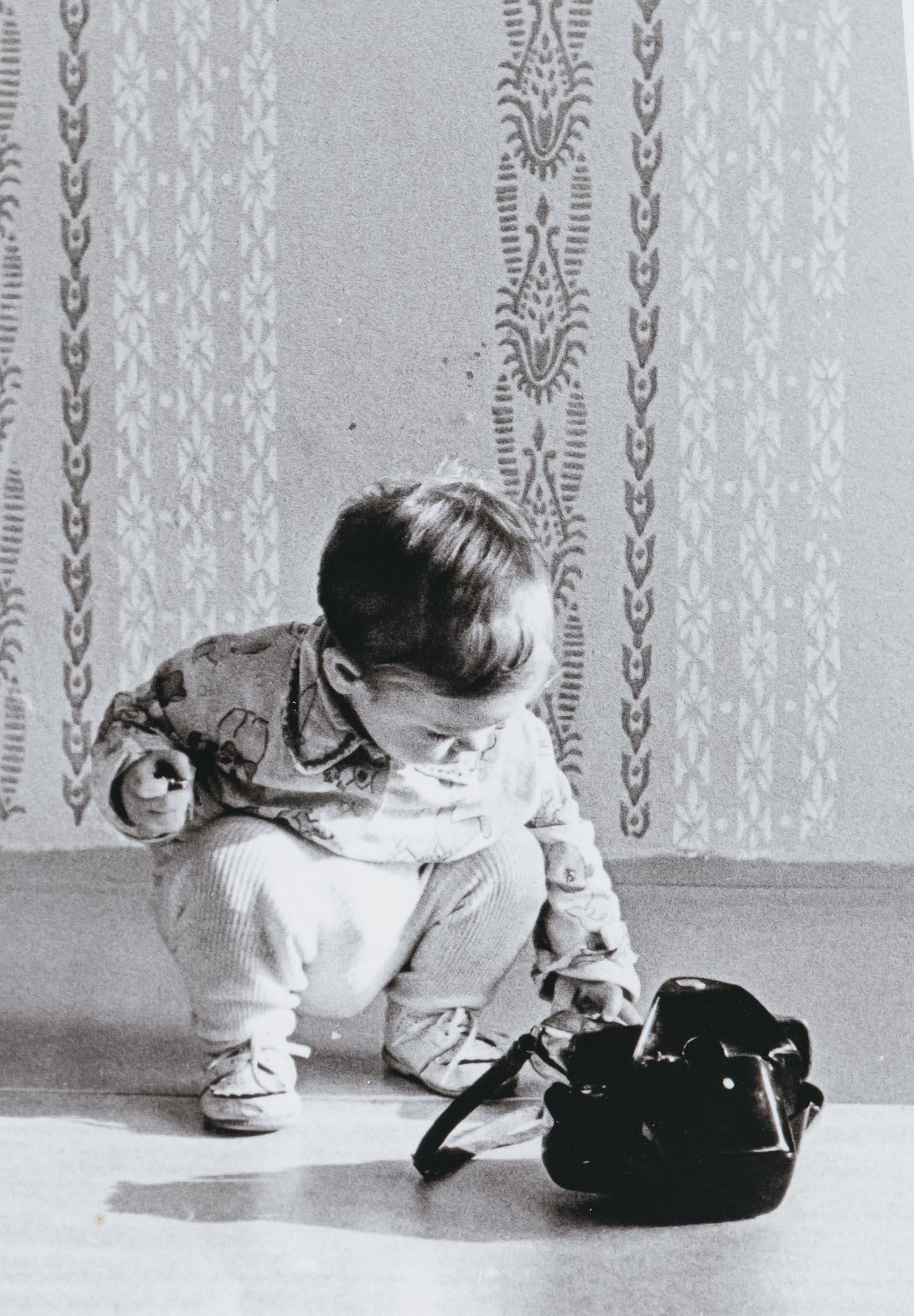 Fotograf se svým prvním fotoaparátem - www.originalfoto.cz